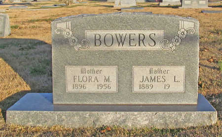 BOWERS, FLORA M - Benton County, Arkansas | FLORA M BOWERS - Arkansas Gravestone Photos