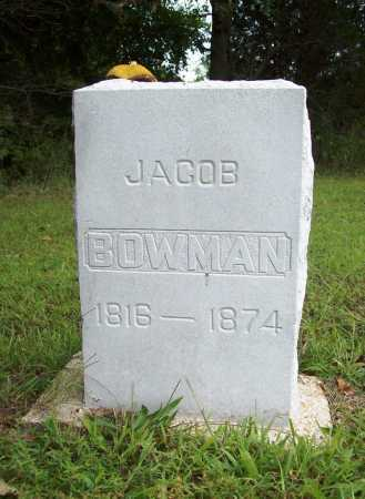 BOWMAN, JACOB - Benton County, Arkansas | JACOB BOWMAN - Arkansas Gravestone Photos