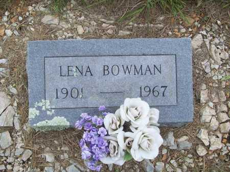 BOWMAN, LENA - Benton County, Arkansas | LENA BOWMAN - Arkansas Gravestone Photos