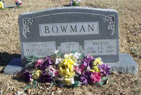 BOWMAN, BUENA - Benton County, Arkansas | BUENA BOWMAN - Arkansas Gravestone Photos