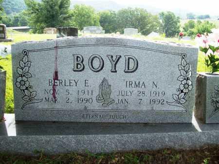 BOYD, IRMA N. - Benton County, Arkansas | IRMA N. BOYD - Arkansas Gravestone Photos