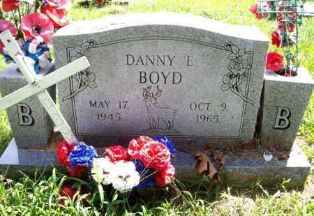 BOYD, DANNY E. - Benton County, Arkansas | DANNY E. BOYD - Arkansas Gravestone Photos