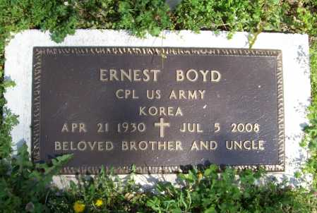 BOYD, JR (VETERAN KOR), ERNEST - Benton County, Arkansas | ERNEST BOYD, JR (VETERAN KOR) - Arkansas Gravestone Photos