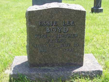 BOYD, ESSIE LEE - Benton County, Arkansas | ESSIE LEE BOYD - Arkansas Gravestone Photos