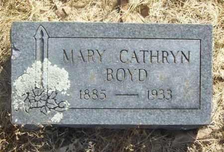 BOYD, MARY CATHRYN - Benton County, Arkansas | MARY CATHRYN BOYD - Arkansas Gravestone Photos