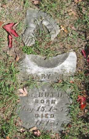 BOYD, MARY S. - Benton County, Arkansas | MARY S. BOYD - Arkansas Gravestone Photos
