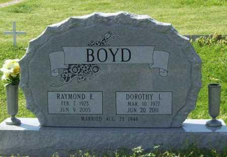 BOYD, RAYMOND E. - Benton County, Arkansas | RAYMOND E. BOYD - Arkansas Gravestone Photos