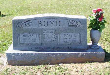 BOYD, THOMAS J. - Benton County, Arkansas | THOMAS J. BOYD - Arkansas Gravestone Photos
