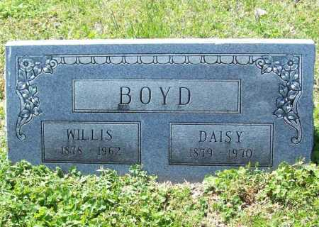 BOYD, WILLIS - Benton County, Arkansas | WILLIS BOYD - Arkansas Gravestone Photos