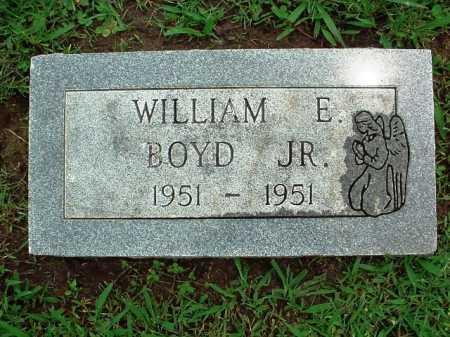 BOYD, WILLIAM E. JR. - Benton County, Arkansas | WILLIAM E. JR. BOYD - Arkansas Gravestone Photos