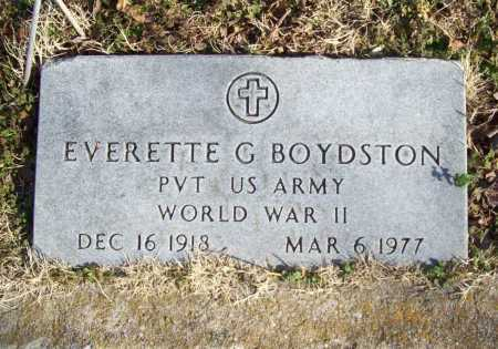 BOYDSTON (VETERAN WWII), EVERETTE G - Benton County, Arkansas | EVERETTE G BOYDSTON (VETERAN WWII) - Arkansas Gravestone Photos