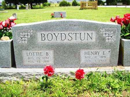 BOYDSTUN, HENRY E. - Benton County, Arkansas | HENRY E. BOYDSTUN - Arkansas Gravestone Photos