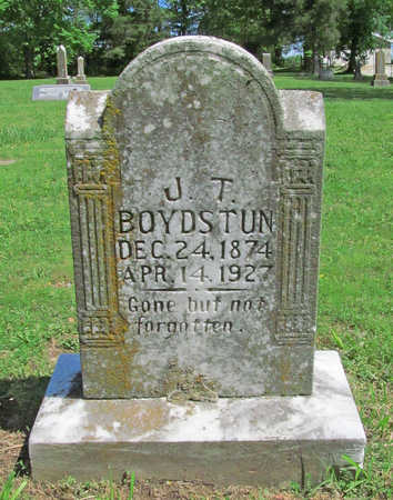 BOYDSTUN, JOHN THOMAS - Benton County, Arkansas | JOHN THOMAS BOYDSTUN - Arkansas Gravestone Photos