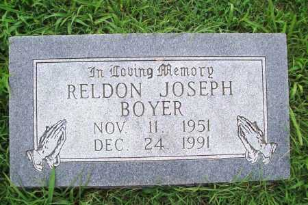 BOYER, RELDON JOSEPH - Benton County, Arkansas | RELDON JOSEPH BOYER - Arkansas Gravestone Photos
