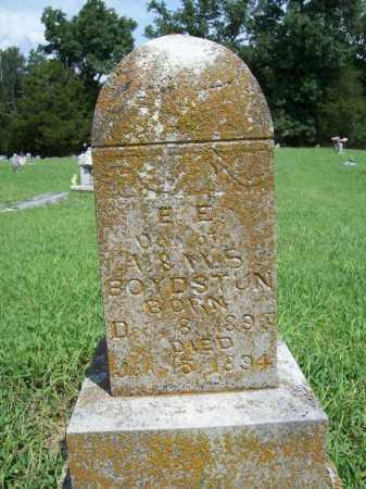 BOYDSTUN, E. E. - Benton County, Arkansas | E. E. BOYDSTUN - Arkansas Gravestone Photos