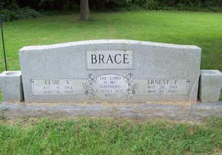 BRACE, ERNEST F. - Benton County, Arkansas | ERNEST F. BRACE - Arkansas Gravestone Photos