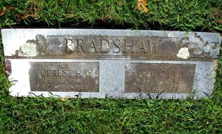 CARL BRADSHAW, ICIE - Benton County, Arkansas | ICIE CARL BRADSHAW - Arkansas Gravestone Photos