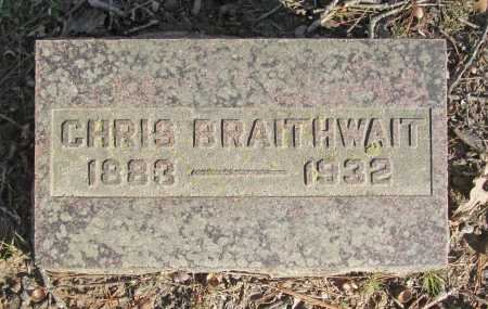 BRAITHWAIT, CHRIS - Benton County, Arkansas | CHRIS BRAITHWAIT - Arkansas Gravestone Photos