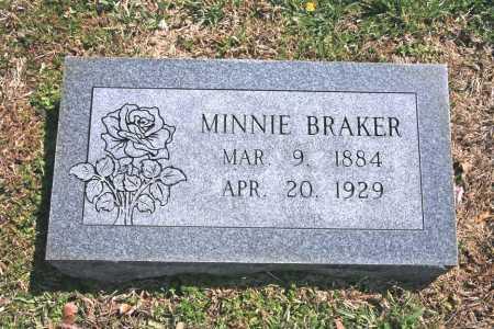 BRAKER, MINNIE - Benton County, Arkansas | MINNIE BRAKER - Arkansas Gravestone Photos