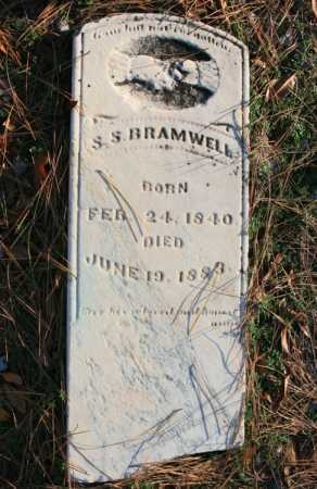 BRAMWELL, S. S. - Benton County, Arkansas | S. S. BRAMWELL - Arkansas Gravestone Photos