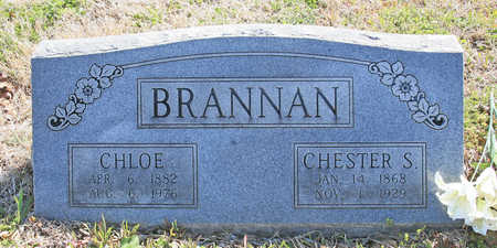 BRANNAN, CHESTER S - Benton County, Arkansas | CHESTER S BRANNAN - Arkansas Gravestone Photos