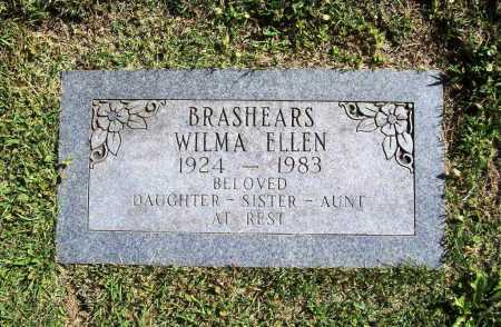 BRASHEARS, WILMA ELLEN - Benton County, Arkansas | WILMA ELLEN BRASHEARS - Arkansas Gravestone Photos