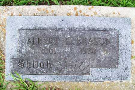BRASON, ALBERT C. - Benton County, Arkansas | ALBERT C. BRASON - Arkansas Gravestone Photos