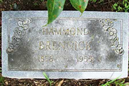 BRENNICK, HAMMOND - Benton County, Arkansas | HAMMOND BRENNICK - Arkansas Gravestone Photos