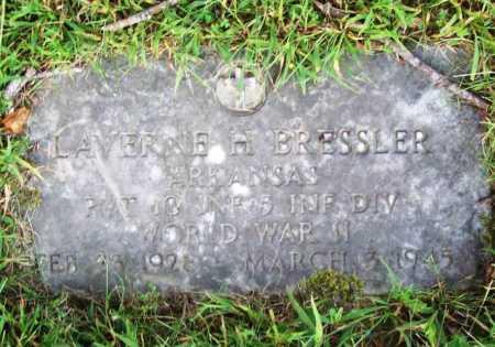 BRESSLER (VETERAN WWII), LAVERNE H - Benton County, Arkansas | LAVERNE H BRESSLER (VETERAN WWII) - Arkansas Gravestone Photos