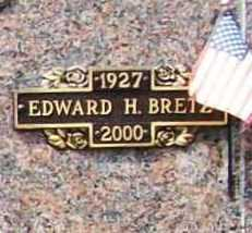 BRETZ, EDWARD H. - Benton County, Arkansas | EDWARD H. BRETZ - Arkansas Gravestone Photos