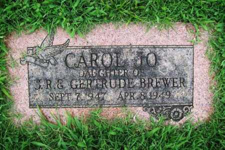BREWER, CAROL JO - Benton County, Arkansas | CAROL JO BREWER - Arkansas Gravestone Photos