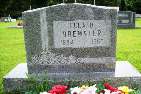 BREWSTER, LULA D. - Benton County, Arkansas | LULA D. BREWSTER - Arkansas Gravestone Photos
