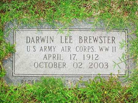 BREWSTER (VETERAN WWII), DARWIN LEE - Benton County, Arkansas | DARWIN LEE BREWSTER (VETERAN WWII) - Arkansas Gravestone Photos