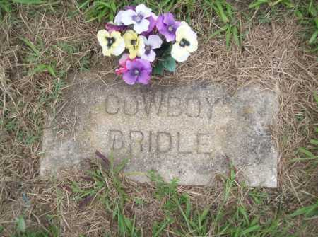 BRIDLE, COWBOY - Benton County, Arkansas | COWBOY BRIDLE - Arkansas Gravestone Photos
