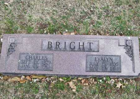 BRIGHT, EVALYN - Benton County, Arkansas | EVALYN BRIGHT - Arkansas Gravestone Photos