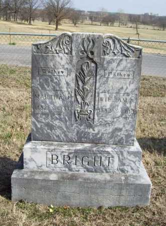 BRIGHT, WILLIAM A. - Benton County, Arkansas | WILLIAM A. BRIGHT - Arkansas Gravestone Photos