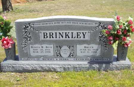 BRINKLEY, BRUCE - Benton County, Arkansas | BRUCE BRINKLEY - Arkansas Gravestone Photos