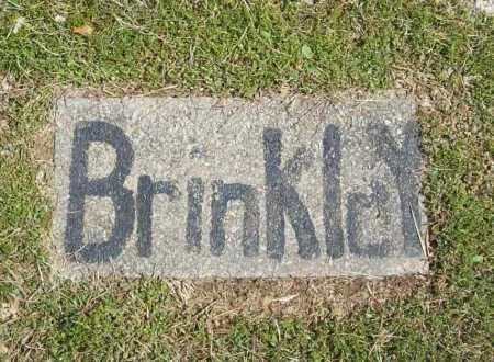 BRINKLEY, UNKNOWN - Benton County, Arkansas | UNKNOWN BRINKLEY - Arkansas Gravestone Photos