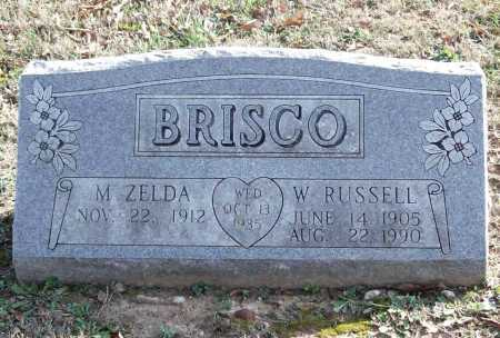 BRISCO, W. RUSSELL - Benton County, Arkansas | W. RUSSELL BRISCO - Arkansas Gravestone Photos