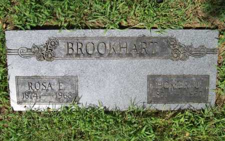 BROOKHART, HOMER U. - Benton County, Arkansas | HOMER U. BROOKHART - Arkansas Gravestone Photos