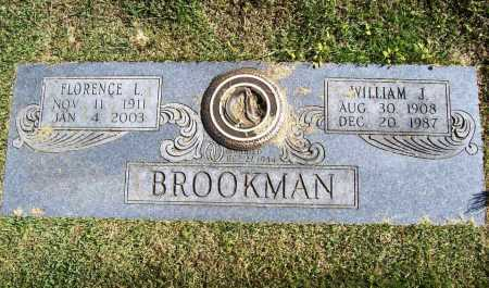 BROOKMAN, FLORENCE L. - Benton County, Arkansas | FLORENCE L. BROOKMAN - Arkansas Gravestone Photos