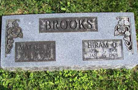 BROOKS, MATTIE F. - Benton County, Arkansas | MATTIE F. BROOKS - Arkansas Gravestone Photos