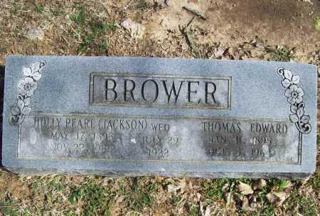 JACKSON BROWER, HOLLY PEARL - Benton County, Arkansas | HOLLY PEARL JACKSON BROWER - Arkansas Gravestone Photos