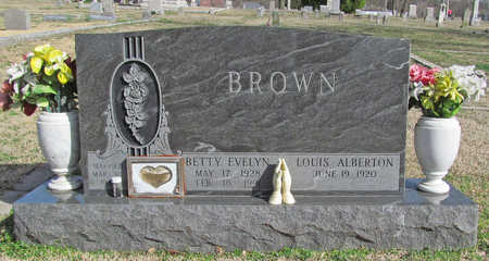 DAVID BROWN, BETTY EVALYN - Benton County, Arkansas | BETTY EVALYN DAVID BROWN - Arkansas Gravestone Photos