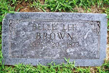 BROWN, BELLE LEE - Benton County, Arkansas | BELLE LEE BROWN - Arkansas Gravestone Photos
