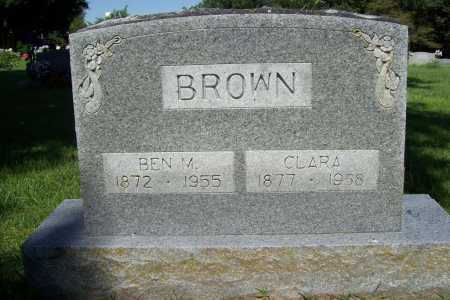 BROWN, CLARA - Benton County, Arkansas | CLARA BROWN - Arkansas Gravestone Photos