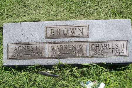 BROWN, CHARLES H. - Benton County, Arkansas | CHARLES H. BROWN - Arkansas Gravestone Photos