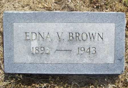 BROWN, EDNA V. - Benton County, Arkansas | EDNA V. BROWN - Arkansas Gravestone Photos