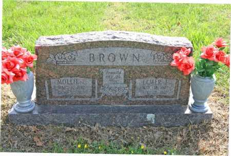 BROWN, MOLLIE E. - Benton County, Arkansas | MOLLIE E. BROWN - Arkansas Gravestone Photos