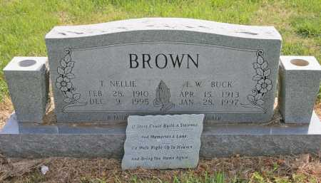 "BROWN, E. W. ""BUCK"" - Benton County, Arkansas 